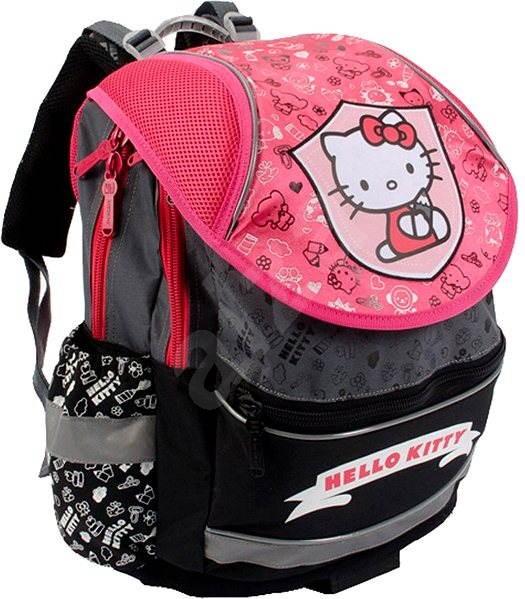 cc1ab56bb96b PLUS Hello Kitty Kids II. Limitált Pink & Szürke - Iskolatáska | Alza.hu
