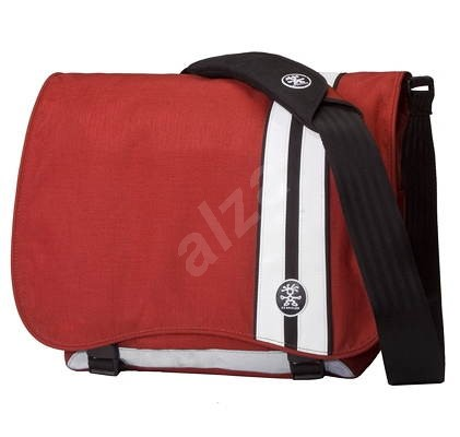 "CRUMPLER Little Pimp - brašna na notebook 12"", červeno-bílá (red-white), 36x30x14cm - Bag"