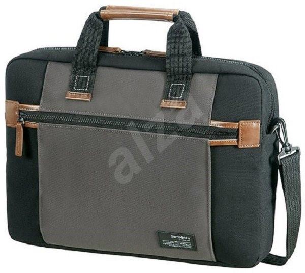Samsonite SIDEWAYS 15.6   fekete szürke laptop táska - Laptoptáska ... d9b42fc40f