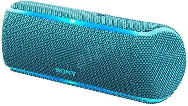 Sony SRS-XB21, kék - Bluetooth hangszóró