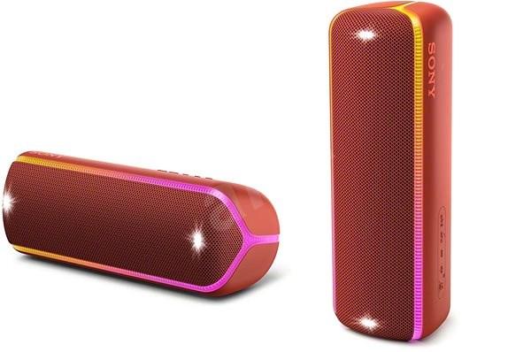 Sony SRS-XB32, piros - Bluetooth hangszóró