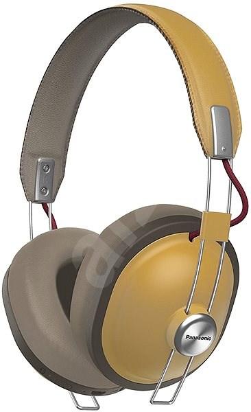 Panasonic RP-HTX80B krémszínű - Mikrofonos fej- fülhallgató  d184705f46