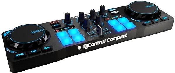 Hercules DJ vezérlő Kompakt - DJ kontroller