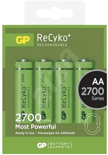 GP ReCyko 2700 (AA) 4ks - Akkumulátor