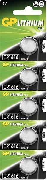 5db GP CR1616 - Gombelem