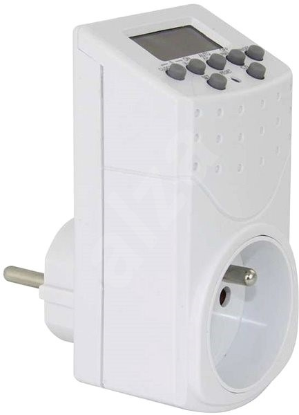 Emos automatikus konnektor kapcsoló IP20 - Aljzat