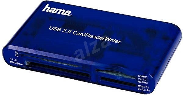 Hama 35-in-1 kék - Kártyaolvasó