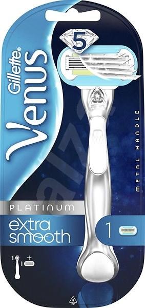 GILLETTE Venus Extra Smooth Platinum + 1 darab pótfej - Női borotva