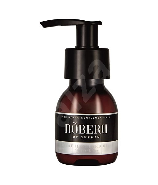 NOBERU Amber-Lime Feather Beard Oil 60 ml - Szakállápoló olaj
