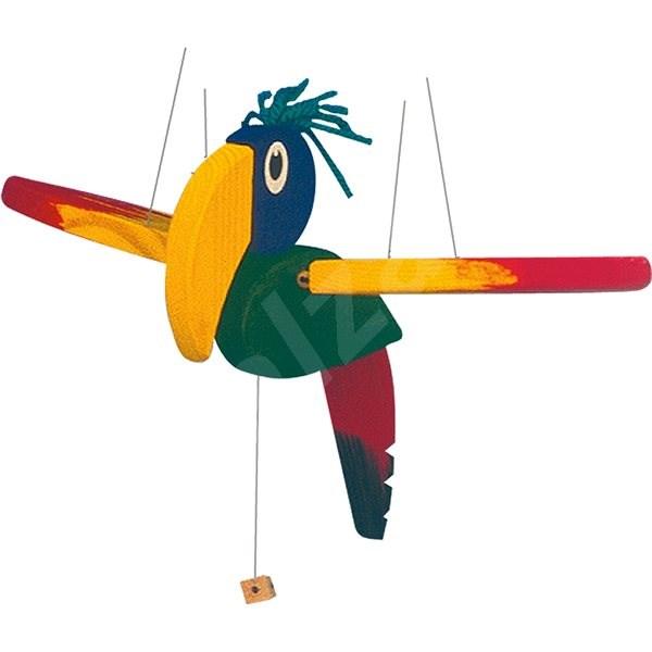 Woody kis repülő papagáj - Gyerekszoba dekoráció