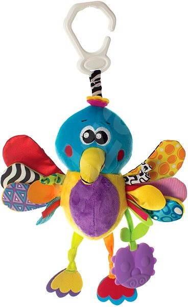 Playgro - Kolibri rágókával - Babakocsira rögzíthető játék
