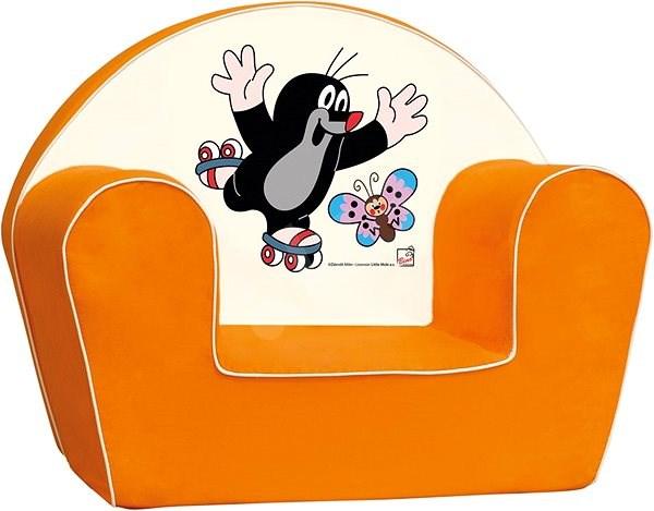 Bino Fotel, Narancssárga - Kisvakond - Gyerekfotel