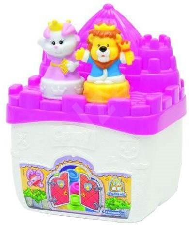 Clemmy baby - Castle állatokkal és a kocka - Játék szett