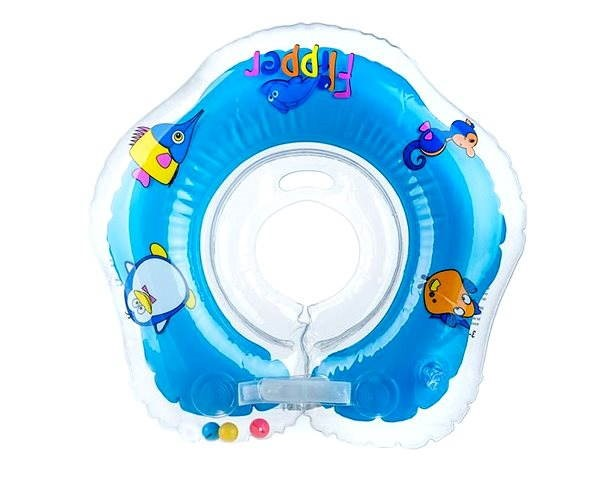 Flipper kék nyak úszógumi - Felfújható játék  245ccd9a05