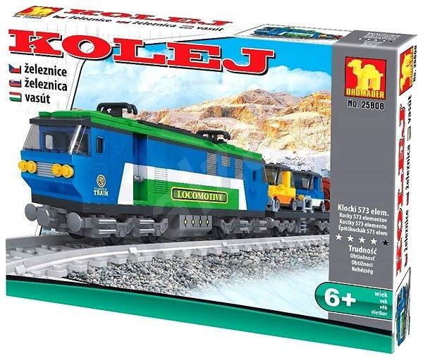 Dromader - Vonat - Építőjáték  1e6ace8c1d