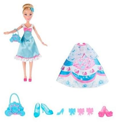 Disney Hercegnők - Hamupipőke baba tartalék ruhákkal - Baba  ef8842a4ba