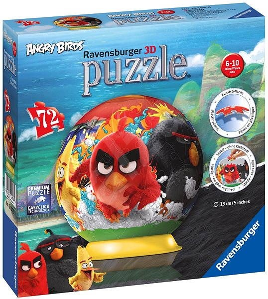 Ravensburger 3D Puzzleball - Angry Birds - Puzzle  64973fed06