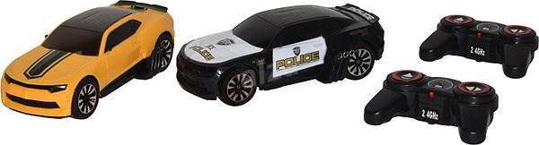 Wiky rendőrségi üldözés RC - Távirányitós autó