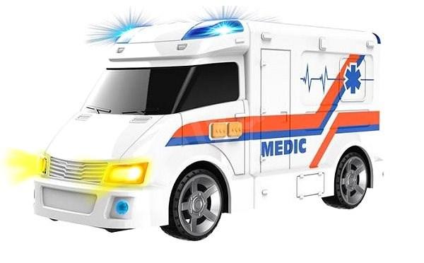 Wiky mentőautó - Játékautó