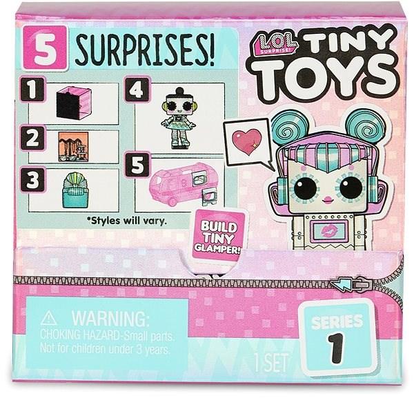 L.O.L. Surprise Tiny Toys Mini Babák - Baba