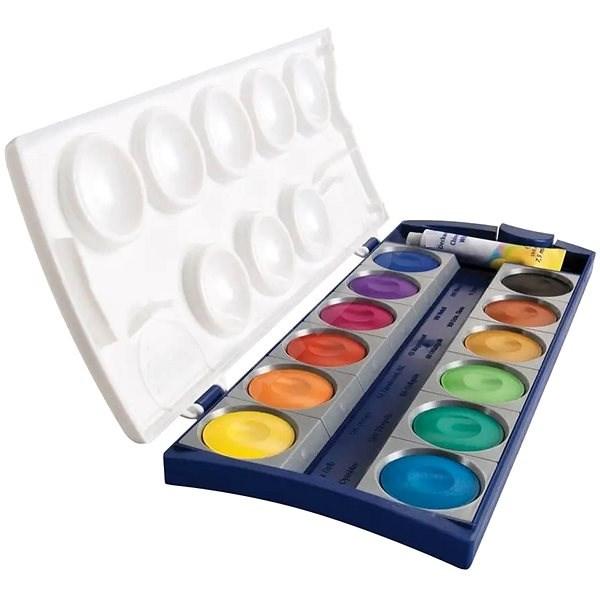 Pelikán vízfesték 12 szín + fehér - Vízfestékek