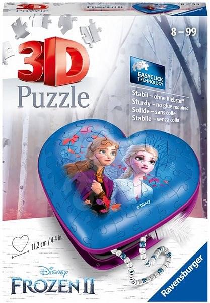 Ravensburger 3D 112364 Disney Szív Jégvarázs 2 54 darab - Puzzle