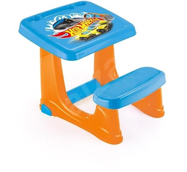 Hot Wheels Gyerekasztal paddal - Játék bútor