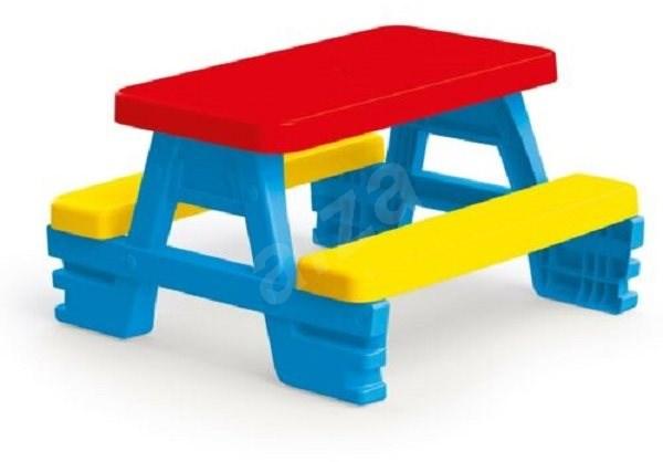 Dolu Négyszemélyes piknik asztal - Játék bútor