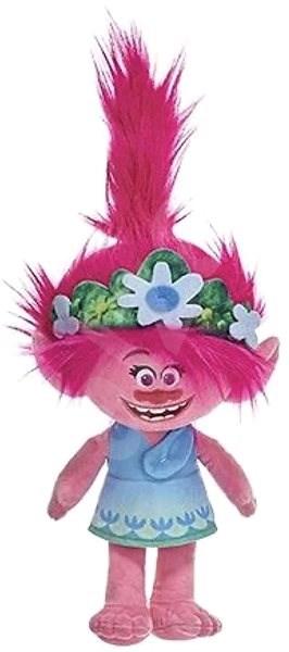 Trolls Poppy kék ruha - Plüssjáték