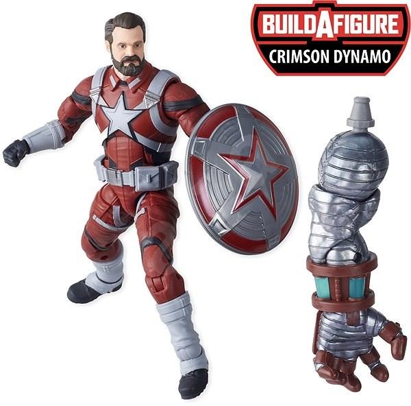 Avengers Legends Gyűjthető sorozat - Red Guardian - Figura