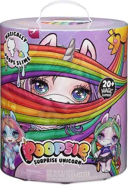 Poopie Surprise Unicorn egyszarvú - lila és kék - Kreatív szett