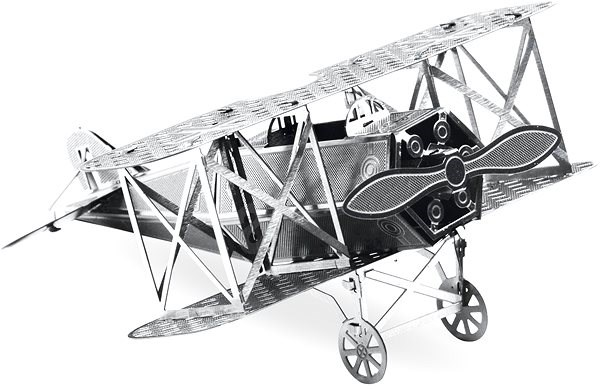 Metal Earth Fokker D-VII - Fém makett