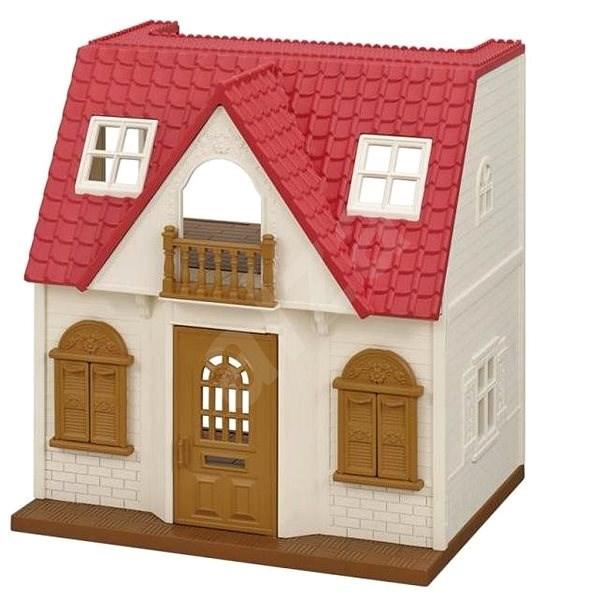 Sylvanian Families Vidéki ház piros tetővel - Játék szett