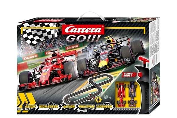 Carrera Go 62483 Race to Win - Autópálya