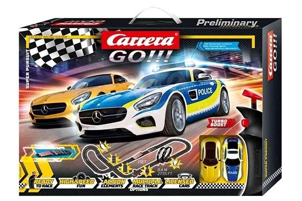 Carrera Go 62494 Super Pursuit - Autópálya