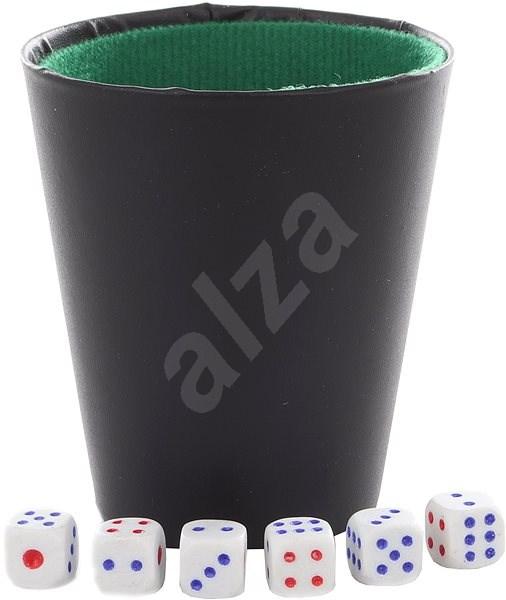 Dobókockák pohárral - Játék szett