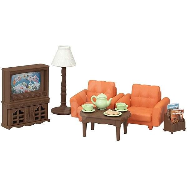 Sylvanian Families Bútorok - nappali - Játék szett