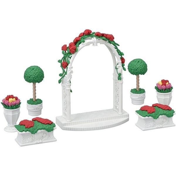 Sylvanian Families Város - virágdísz kapuval - Játék szett