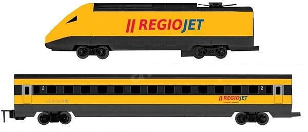 Rappa RegioJet vonat hang-és fényjelzéssel - Vonat  6d1bf5cbd5