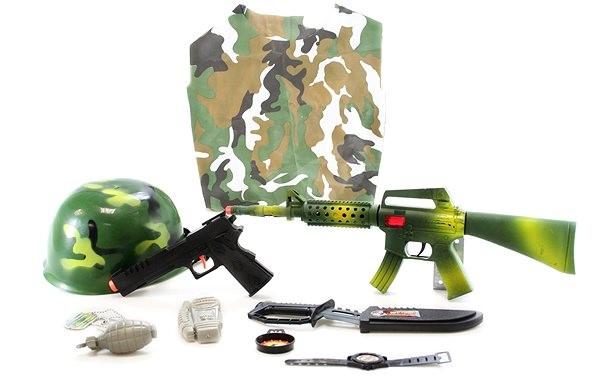 26593aa164 Nagy katonai készlet gyermekeknek - Játékfegyver | Alza.hu