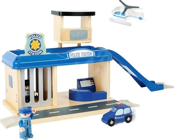 Small foot Rendőrállomás tartozékokkal - Vasútmodell kiegészítő