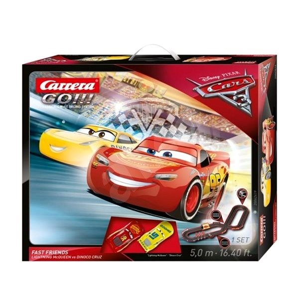 Carrera GO 62419 Verdák 3 - Fast Friends - Autópálya