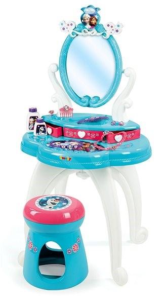 Smoby Jégvarázs fésülködő asztalka székkel - Szépség szett  748579db624d7