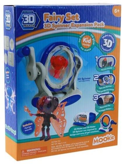 3D Magic Spinner kiegészítő formák - Kreatív szett