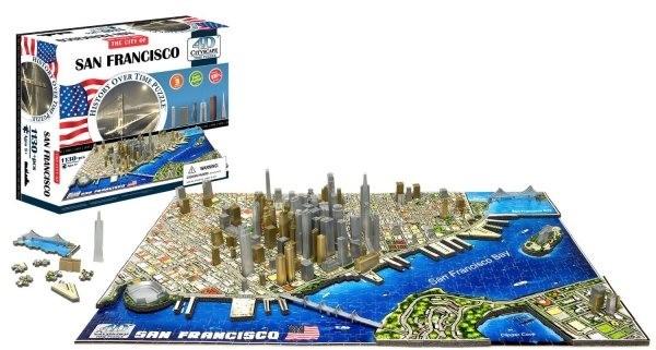 4D Puzzle San Francisco 4D kirakós | Alza.hu