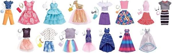 Barbie Ruhák kiegészítőkkel - Baba  383ed98d3f