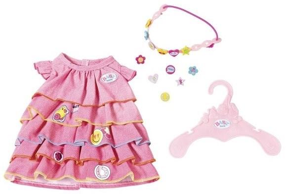 ecad7f6178 BABY Born Nyári ruha rápattintható díszítésekkel - Kiegészítők babákhoz