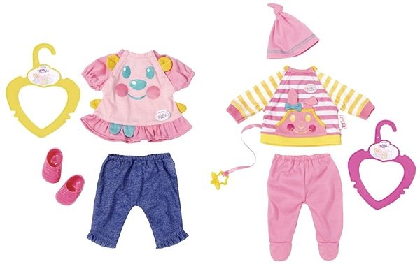My Little BABY born - Aranyos ruhák - Kiegészítők babákhoz  65a8fa1f08
