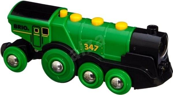 Brio World 33593 Nagy zöld akció mozdony - Vonat  476585792f