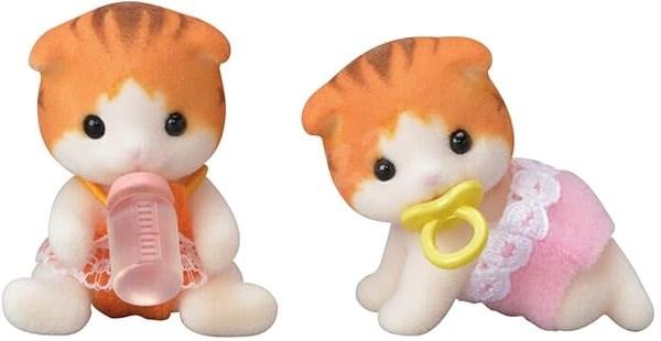Sylvanian Families Maple Cat Twins - Játék szett